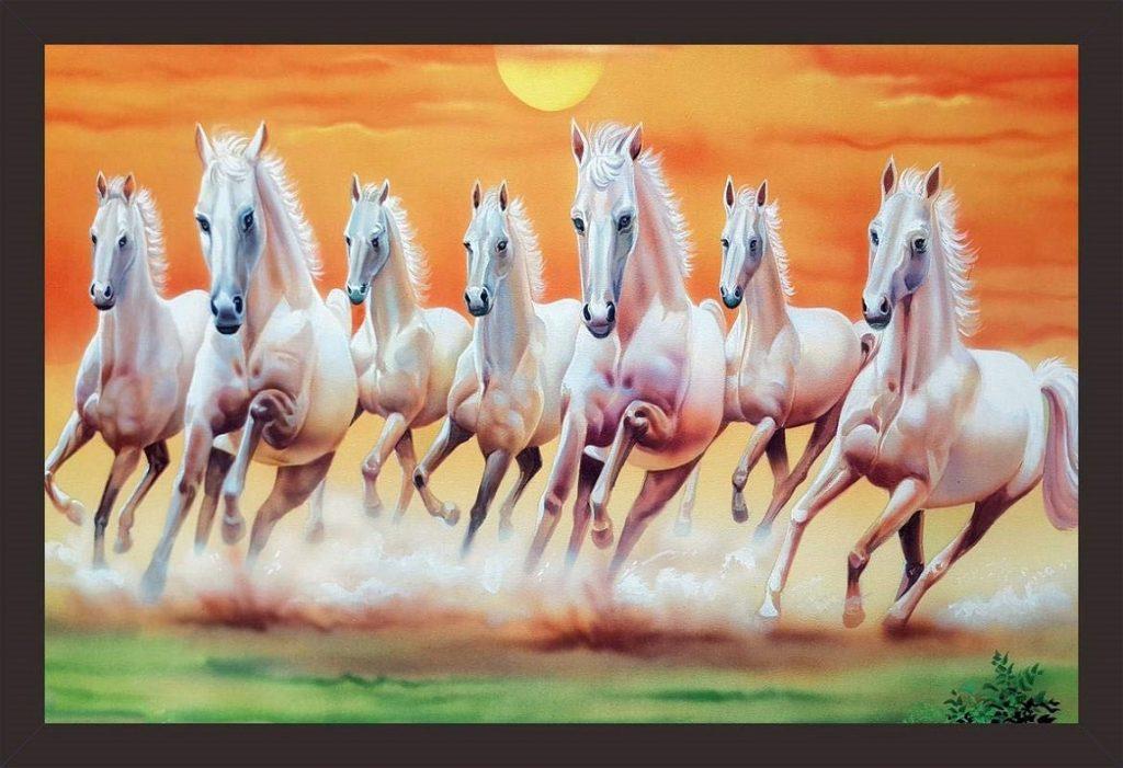 7 Horse Painting Vastu Tips Horse Painting In Bedroom Vaastushastras